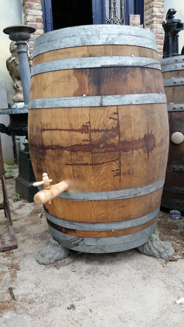 wijnvat houtenkraan