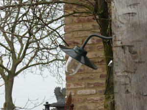 Lantaarn voor muur