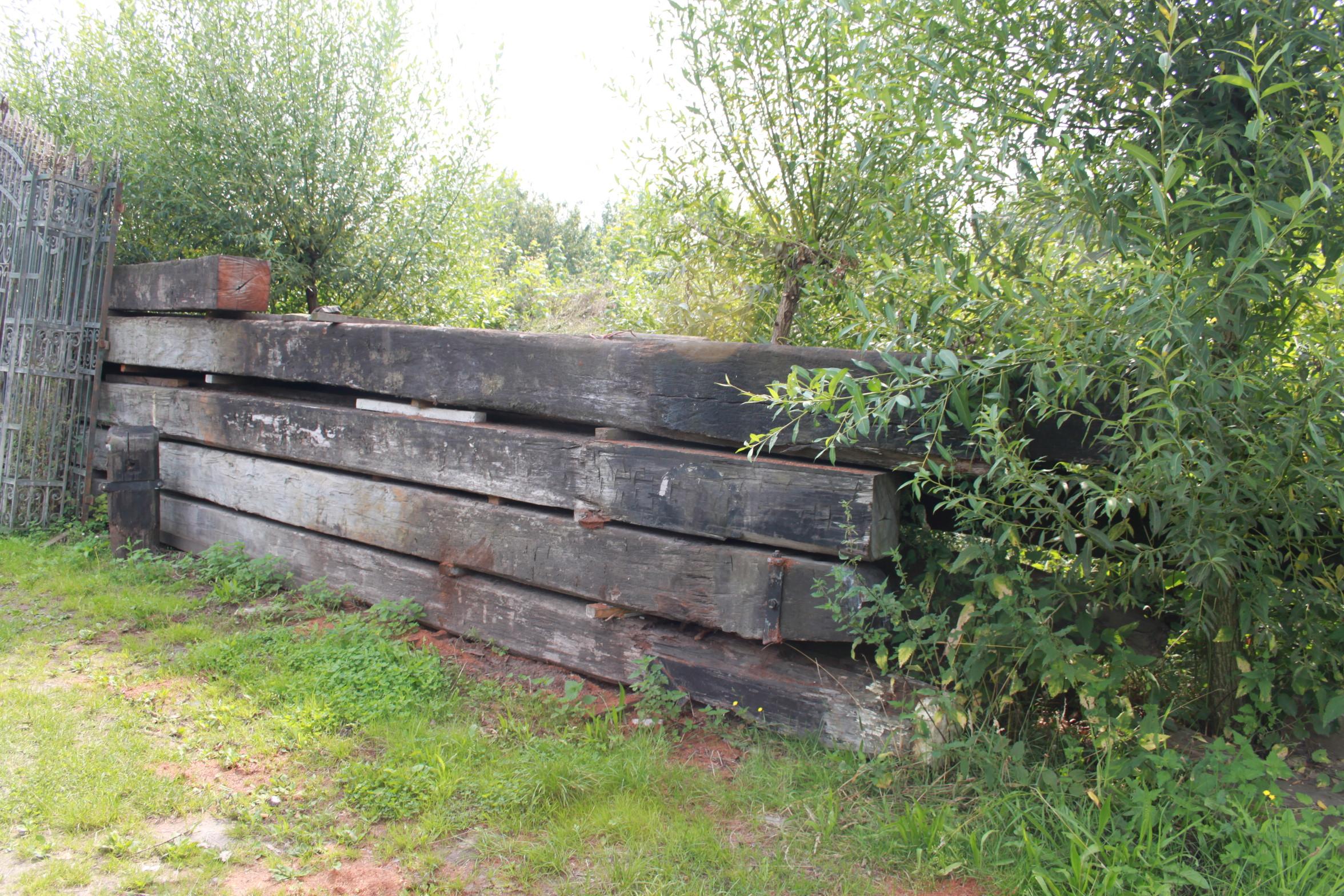 Wonderlijk Imposante oude Azobe Balken | VAN ROY KASSEIEN ZP-51