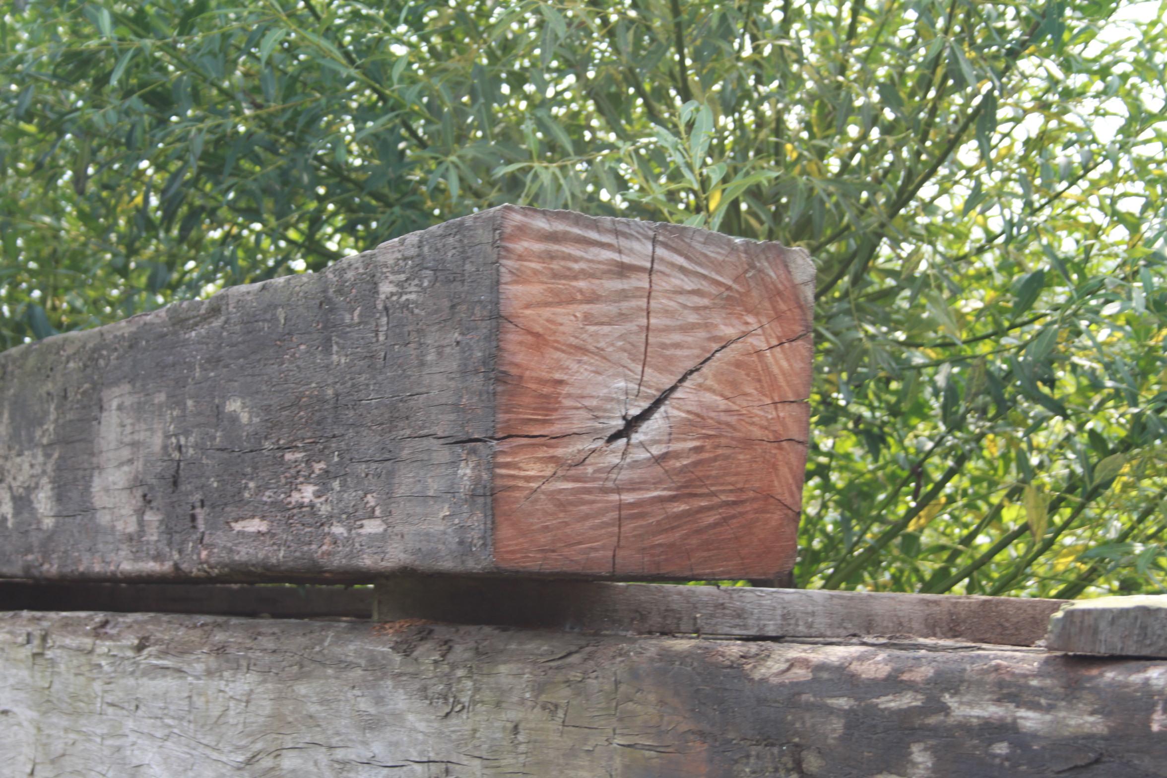 Uitgelezene Imposante oude Azobe Balken | VAN ROY KASSEIEN KH-61